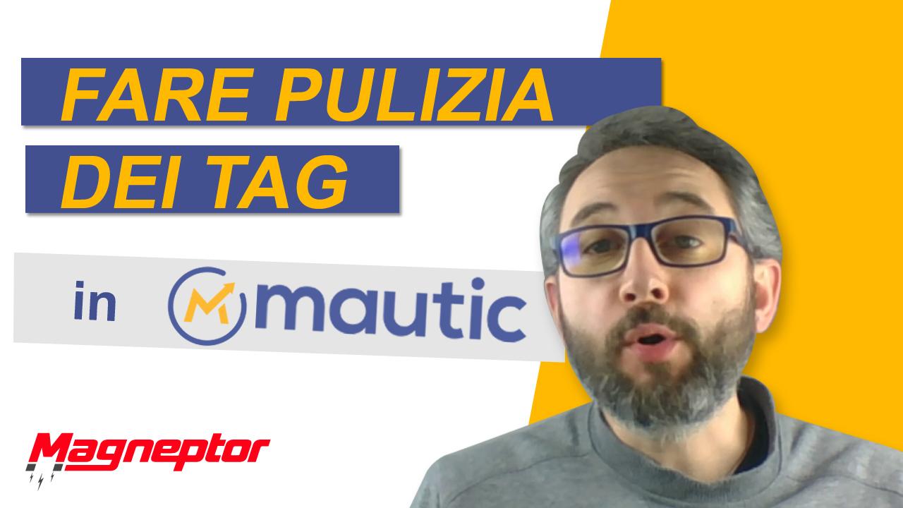 Come eliminare un tag su Mautic