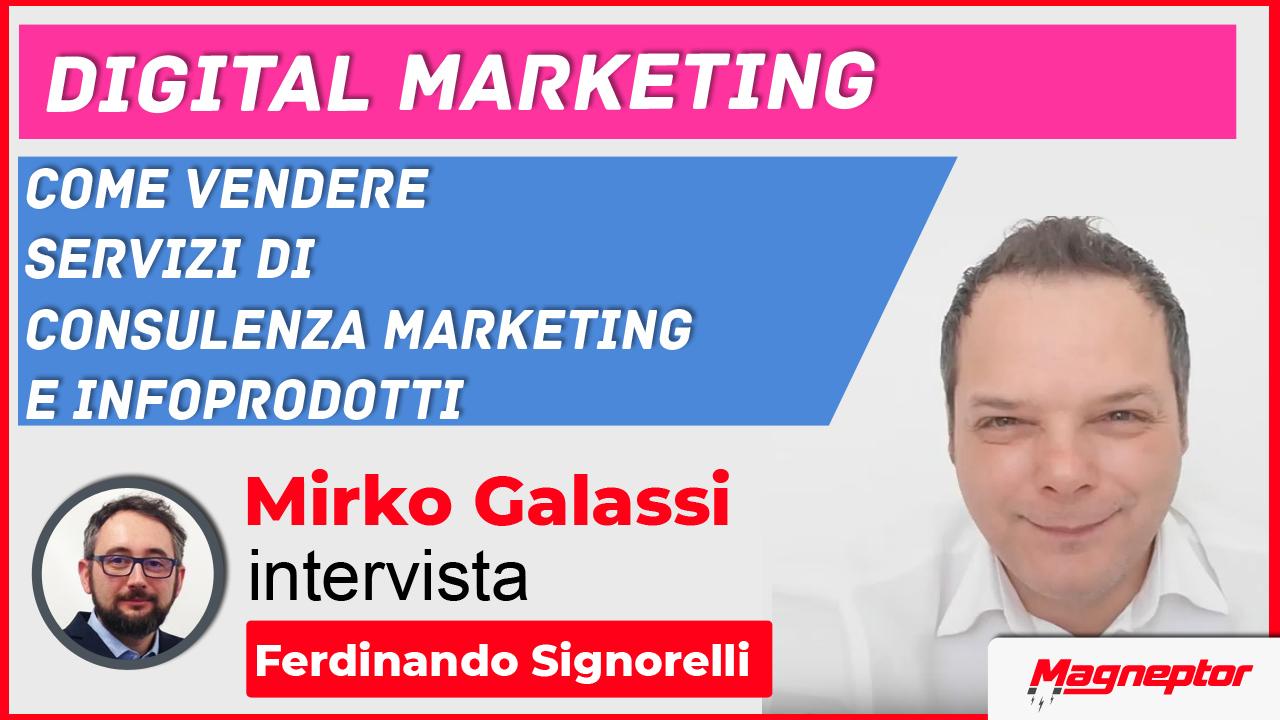 Come vendere servizi di consulenza marketing e infoprodotti