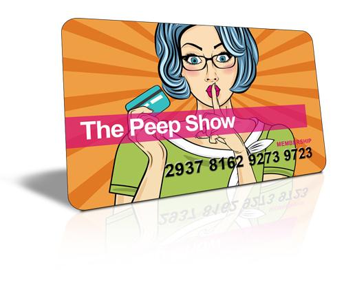 Peep Show Marketing
