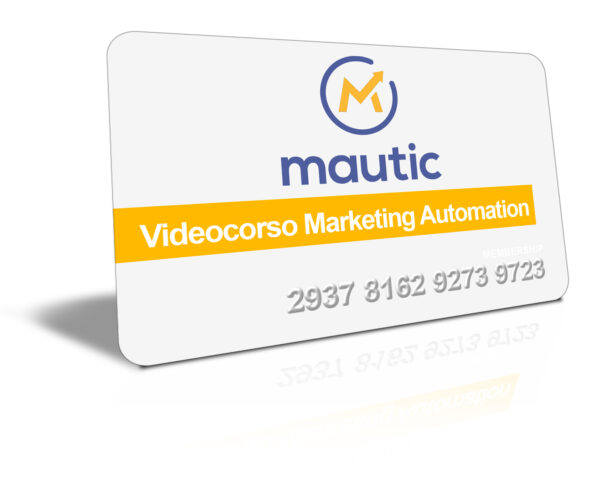 Video Corso Marketing Automation con Mautic